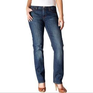 NWT Levi's 525 Perfect Waist Straight Leg Jeans 12